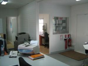 Une autre vue des bureaux, après installation.