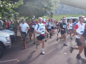 Départ course du tangue 2010